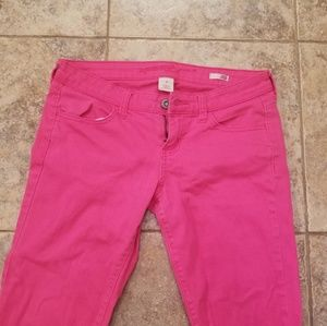 Arizona Jean Company Jeans - Arizona Jeans Good Cond. Skinny Hot Pink Jeans
